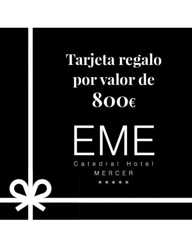 Tarjeta regalo EME Catedral Mercer 5*...