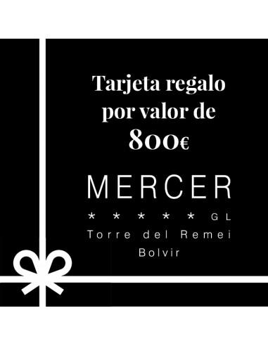 Tarjeta regalo Mercer Hotel Torre del...